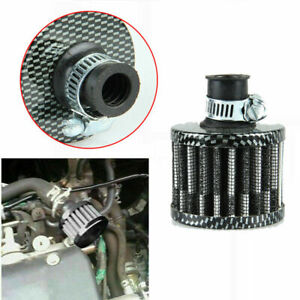 12mm Breather Air Filter Oil Catch Tank Crankcase Intake Valve Cover Hzn666