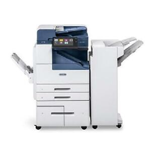 Only 28k Pages Newer Model Xerox Altalink B8055 Black And White Photocopier Pr