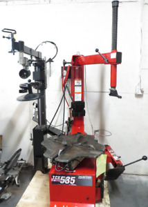 Hunter Tcx535e Table Top Tire Changer W Bead Press Power Out Bead Loosener