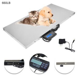 Digital Scale Large Weight Veterinary Animal Pounds Livestock Dogs Weighing
