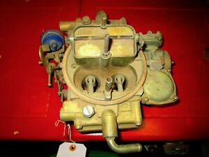 1985 87 Ford Truck Holly Motorcraft Carburetor E5he 9510 ep List 50260 3