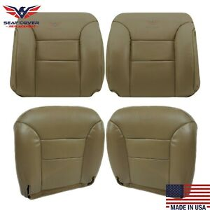 1995 1996 1997 1998 1999 Chevy Tahoe Suburban Leather Seat Cover In Tan