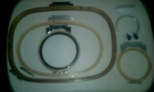 Melco Set Of 5 Embroidery Hoops For Emc Machines