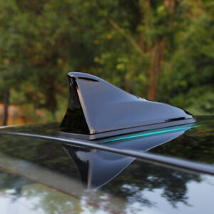Universal Car Roof Radio Signal Shark Fin Style Aerial Antenna Cover Am Fm New
