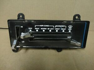 81 87 Chevy Square Body Pickup Truck Climate Control Heater A c Switch