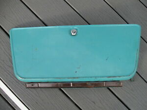 1967 1972 Chevrolet Chevy Gmc Pickup Glove Box Door With Hinge And Latch Oem