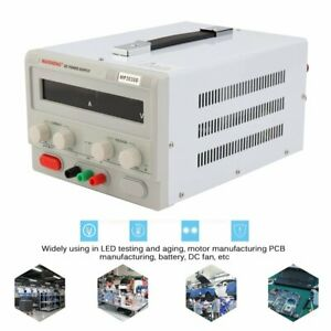 New Triple output 30v 20a Linear Dc Power Supply Regulated Variable Led