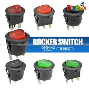 2 3 4pin Kcd1 Terminals On off Rocker Boat Button Switch switch Waterproof Cap