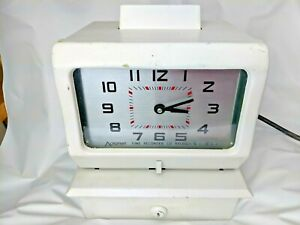 Acroprint Time Recorder Time Clock Model 125rr4