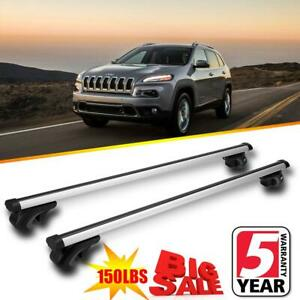 Top Roof Rack Cross Bars Cargo Carrier Oem Replace For 2014 2018 Jeep Cherokee