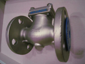 Sharpe 25116 Stainless Steel 316 Swing Check Valve Class 150 Flanged 1