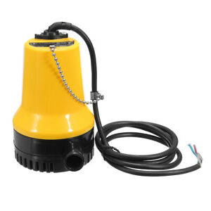 Dc 24v 50w Mini Submersible Pump Electric Immersible Pump Bilge Water Pump Clean