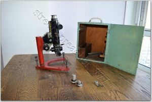 Ussr Soviet Experimental Sample Large Polarization Microscope Mp 7 Leningrad