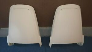 1970 71 Mopar Bucket Seat Backs New White Seat Backs
