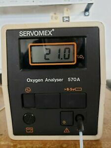 Servomex Paramagnetic O2 Oxygen Analyser 570a Free Shipping