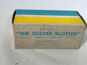 10 5 Ft Rolls Solder Remover Tela wik The Solder Blotter New