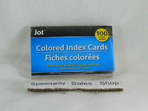 h1 4pack Index Cards Ruled 3 X 5 100 Index Cards School office Supply