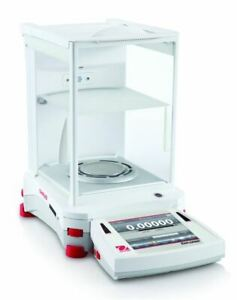 Ohaus Ex225 ad Explorer Semi micro Balance With Automaic Door 220 G X 0 01 Mg