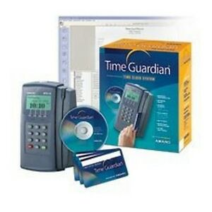 Amano Mtx 15 a300 Time Guardian Time Clock System New
