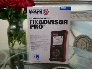 Matco Fix Advisor Pro Md85 Automotive Diagnostic Code Scanner Reader Scan Tool