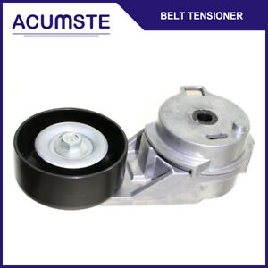 Serpentine Belt Tensioner W Pulley For Buick Hummer Isuzu Saab Colorado Canyon