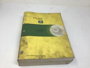John Deere 2755 2855n Tractor Parts Catalog Pc4215 May 1995 Free Shipping