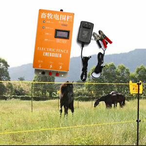 Xsd280a Solar Electric Fence Energizer Charger High Voltage Pulse Display Screen