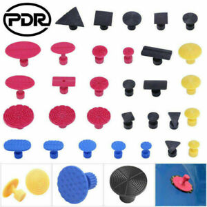 Pdr Dent Removal Glue Pulling Tabs Set Paintless Car Body Hail Repair Tools Kit