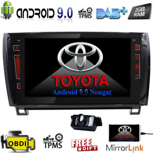 For Toyota Tundra Sequoia 2008 2013 9 Android9 0 Car Radio Stereo Gps Indash Us
