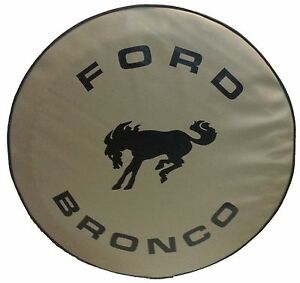 Sparecover Abc Series Ford Bronco 30 Tan Heavy Duty Vinyl Tire Cover