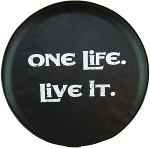 Sparecover Abc Series One Life Live It 27 Hd 35 Mil Vinyl Tire Cover 4 Honda