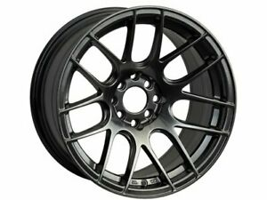 One 15x8 Xxr 530 4x100 114 3 20 Chromium Black Wheel