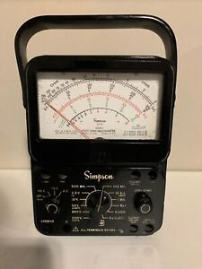 Simpson 260 Series 6p Analog Volt ohm milliammeter Vom Multi meter