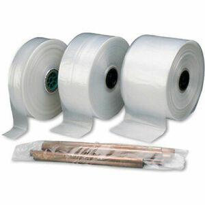 Poly Tube Roll 12 x1075 4 Mil Lot Of 1