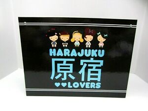 2010 Harajuku Lovers Gwen Stefani File Box Letter Size Hanging File Folders New