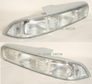 For Honda Acura Integra 2 Dr Door Hatchback Rear Tail Lights Lamps Clear 9