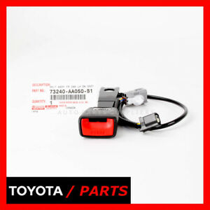 Factory Toyota 2002 2003 Camry Front Left Seat Belt Buckle 73240aa050b1 Oem