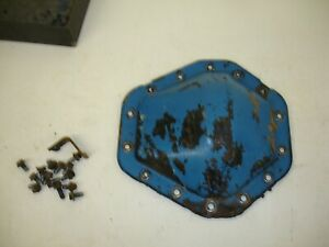 Gm 10 5 14 Bolt Full Float Rear Diff Cover Stock Cover With Bolts