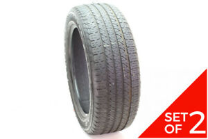 Set Of 2 Used 265 50r20 Goodyear Fortera Hl 107t 6 32