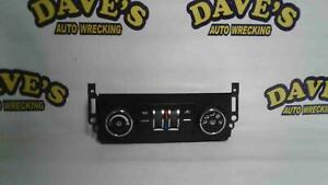 07 08 09 Chevrolet Tahoe A c Control Unit Heater Climate Temperature 25901393