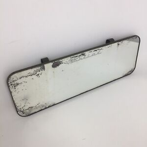 Vintage Pontiac Automobile Car Mirror Sun Visor Clip On Rear View Mirror 10