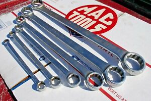 Mac Tools Box Wrench Set 7pc Sae Standard