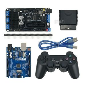 Arduino Motor Driver Ps2 Joystick Uno Development Board For Smart Car