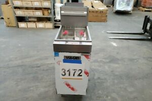 3172 Vulcan Veg Series Natural Gas Fryer Model 1veg35m 1 Free Shipping