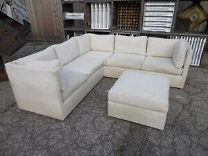 60 S Vintage 3pc Sectional Sofa By Westwood Mid Century Modern Probber Style Era