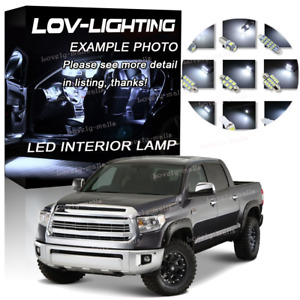 Led Exterior Package Kit Bulb Xenon White 8 For 2014 2015 2016 Toyota Tundra Ru
