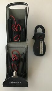 Amprobe Ultra Analog Clamp Meter With Case And Leads