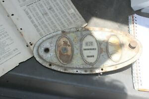 1928 Chevy Instrument Cluster