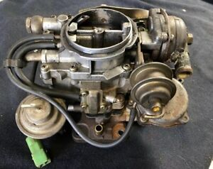 1980 Toyota Pickup 20r Carburetor Aisan 38371 Used In Storage For 20 Years