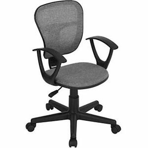 Kids Desk Chair Mid back Mesh Task Study Adjustable Height Ergonomical Students